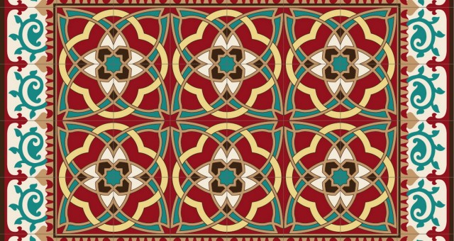הכירו את טרנד שטיחי ה- PVC